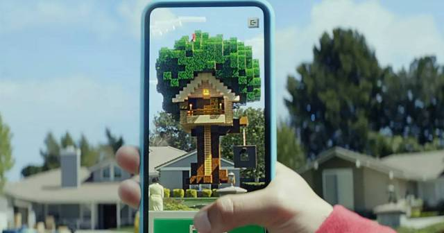 Novo Minecraft permitirá construir coisas no mundo real