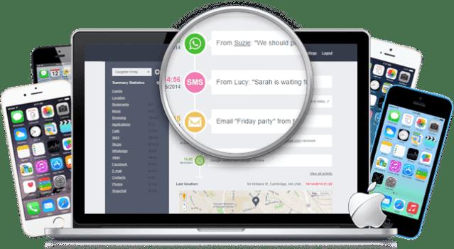 software de monitoramento de celular