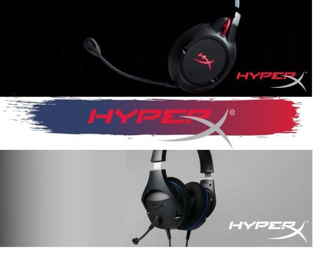 Headset wireless HyperX, os dois primeiros no mercado brasileiro