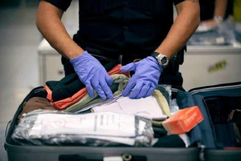 Regras dos aeroportos que fiscaliza as malas