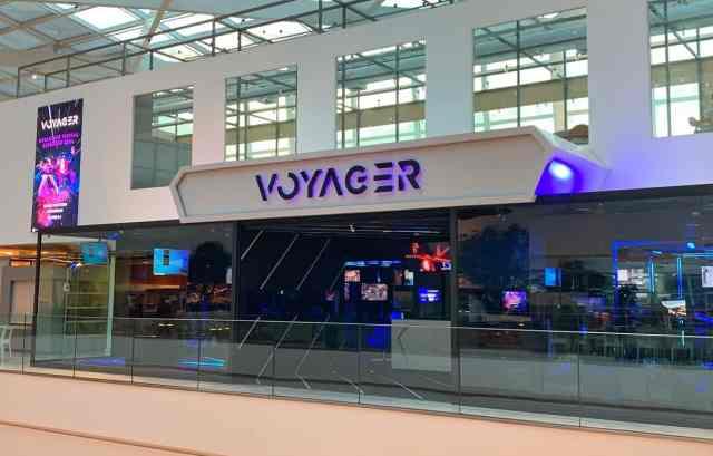 Voyager realidade virtual  inaugura primeira unidade em Curitiba