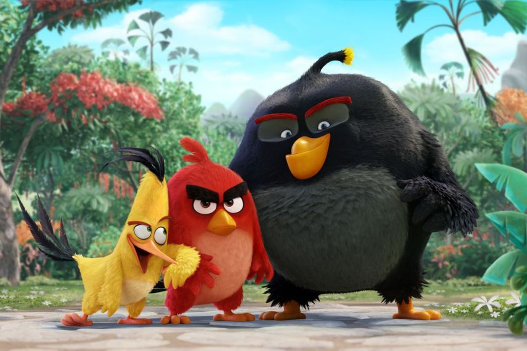 filme angry birds Flame Ads marketing