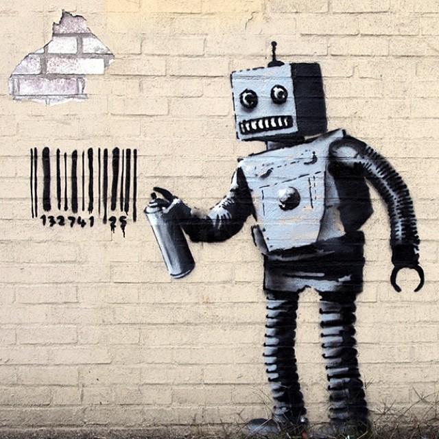 Tajemný streetartový umělec Banky byl odhalen, je to člen Massive Attack