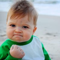 Chlapečkovi Success Kid je dnes jedenáct!