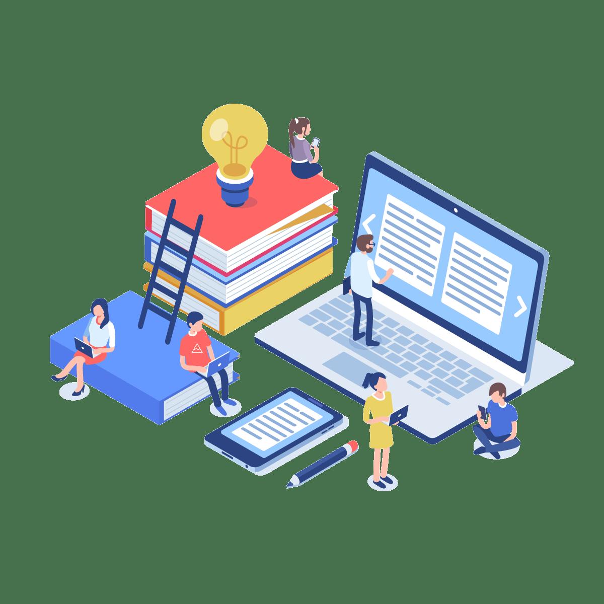 supro content marketing illustration