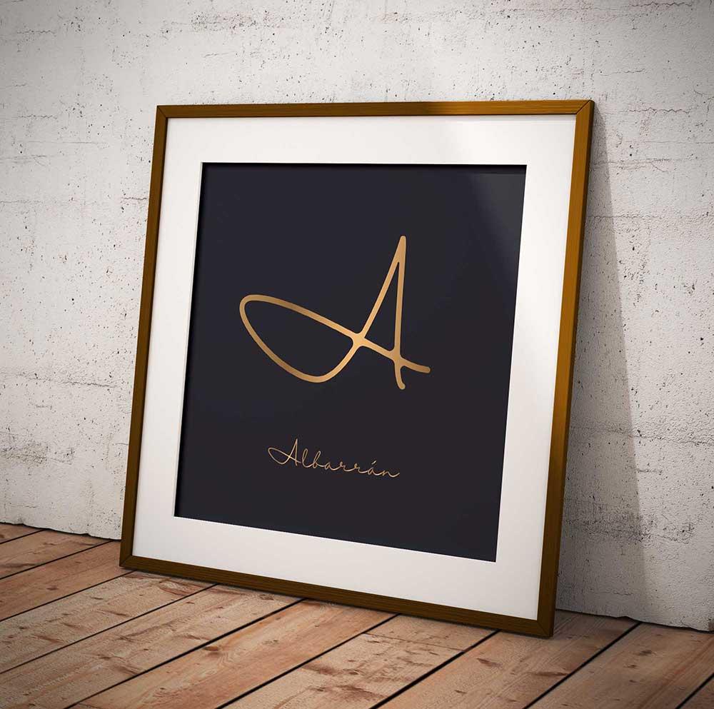 supro projects grupo albarrán logo framed