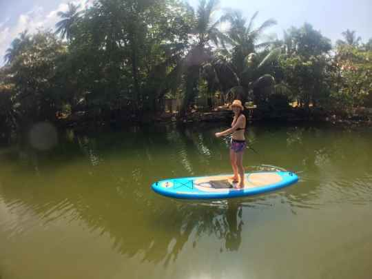 SUP Instructor, SUP Tour, Stand Up Paddling, Hikkaduwa, Nico Beach