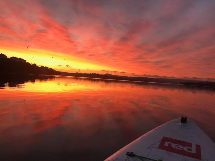 Take a SUP paddle board tour down the Salcombe Estuary