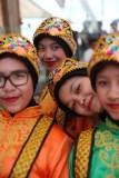 Danzatrici indonesiane nel Suq