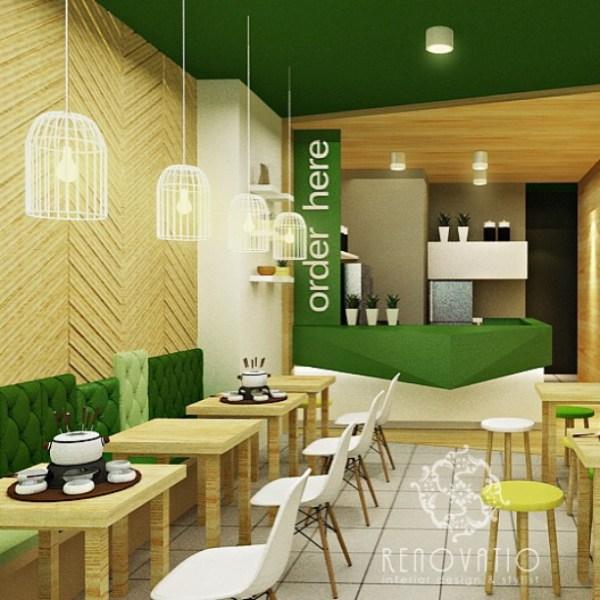 Matcha Cafe dekor