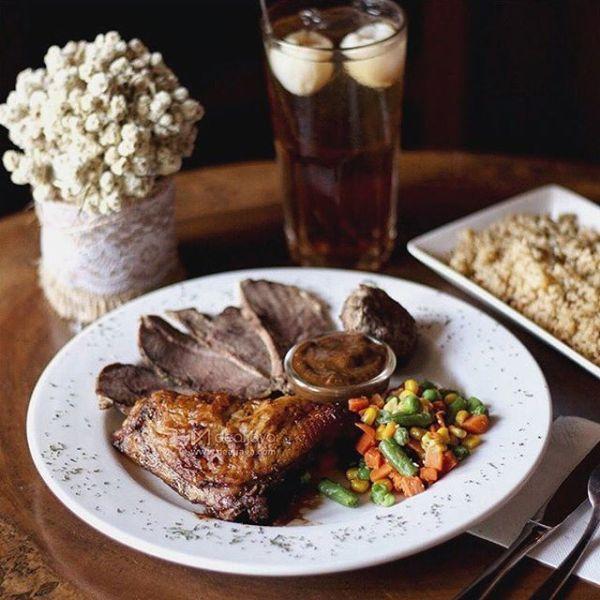 Antler Cabin rustic roast
