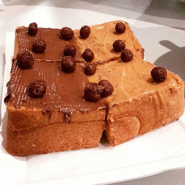 Yoohoo thick toast