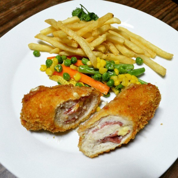 Fonte Chicken Cordon Bleu
