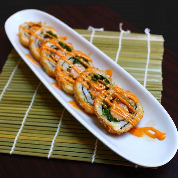 K Sushi Crispy Sausage Roll