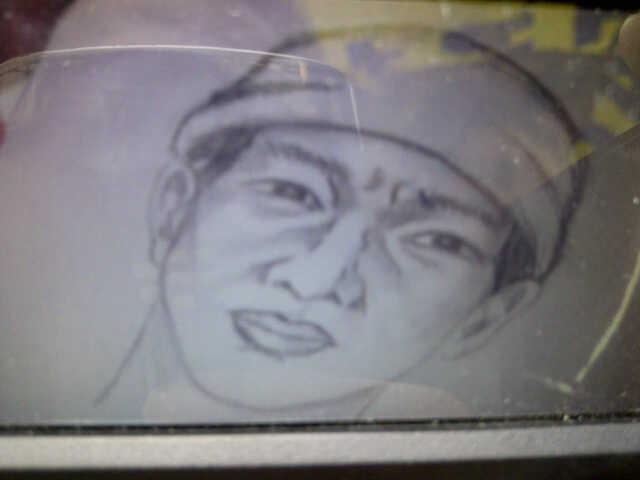 Inilah sketsa wajah pria yang diduga kuat sebagai eksekutor perampokan senilai Rp. 175 juta tersebut. ( FOTO : ist / surabayaupdate)