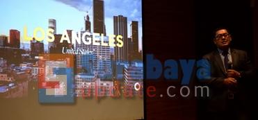 Los Angeles, Amerika Serikat, juga menjadi pilihan Crown Group untuk membangun proyek prestisius Crown Group di tahun 2019. (FOTO : parlin/surabayaupdate.com)