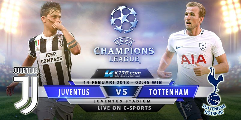 Image result for Juventus vs Tottenham UEFA Champions League live pic logo