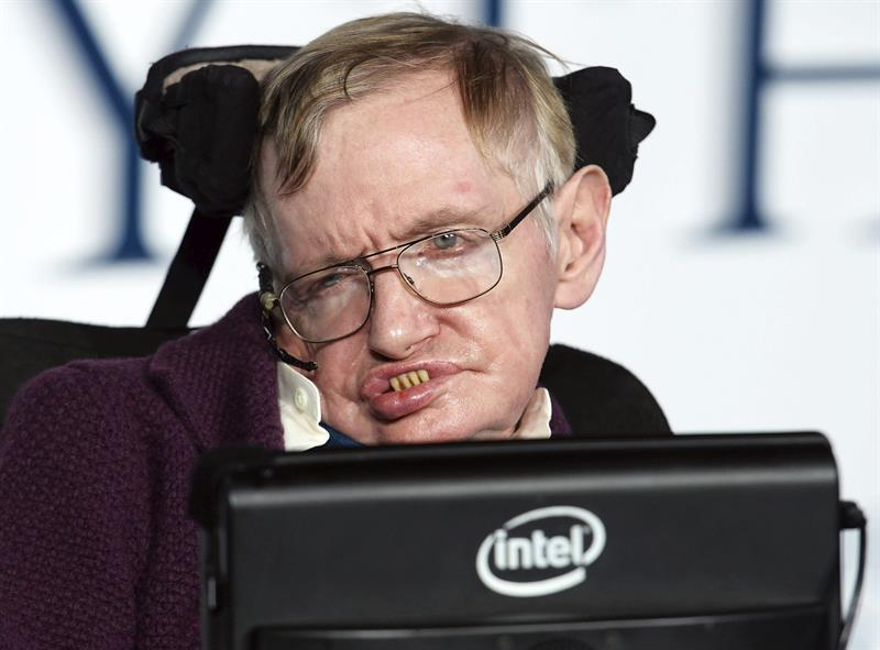 Stephen Hawking, foto EFE, 130318