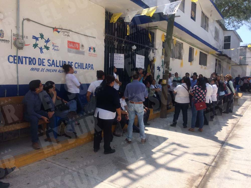 paran centro de salud de Chilapa Foto Luis Daniel Nava, 120318