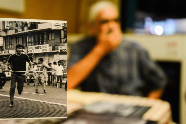 Fue uno de los fotógrafos más reconocidos por su documentación de los movimientos sociales del siglo XX en México. Es autor de las imágenes más difundidas del Jueves de Corpus en 1971. Foto: Galo Cañas, Cuartoscuro.