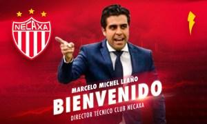 Nuevo director de club Necaxa Marcelo Michel Leaño