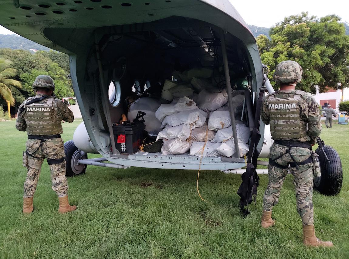 Detienen a un ecuatoriano con casi 2 toneladas de cocaína en México