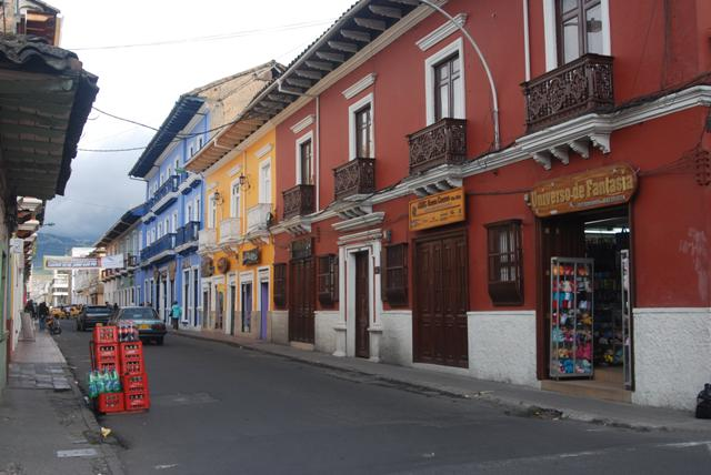 Alguna calle de Pasto