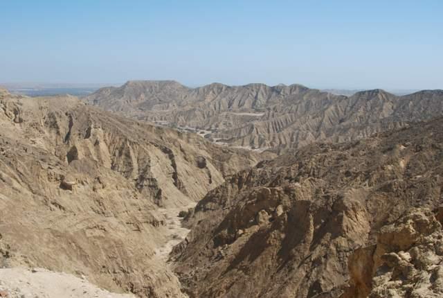 La antesala al desierto