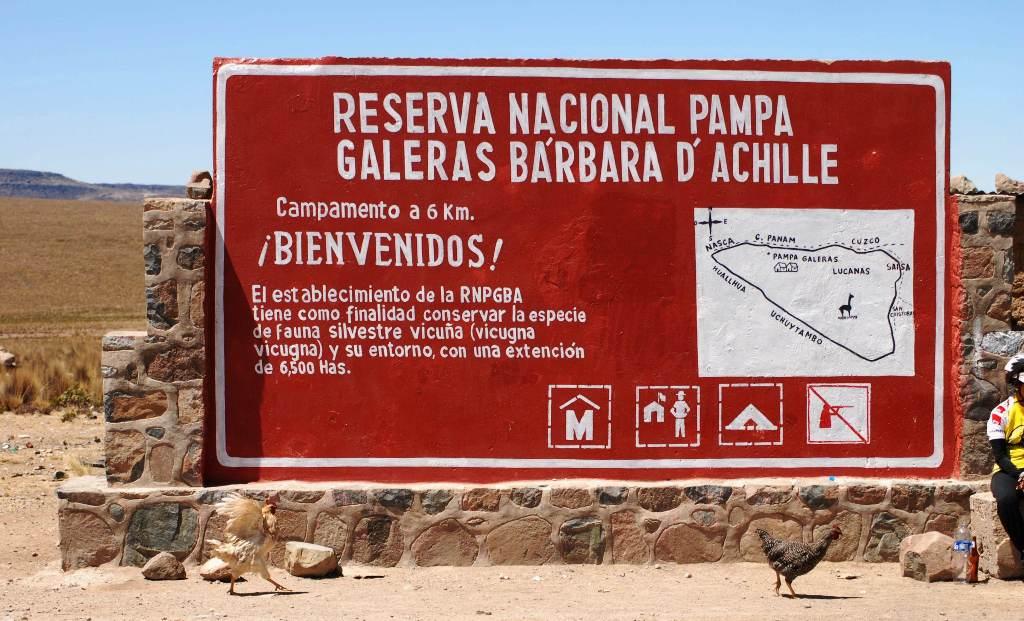 Reserva Natural Pampa Galeras