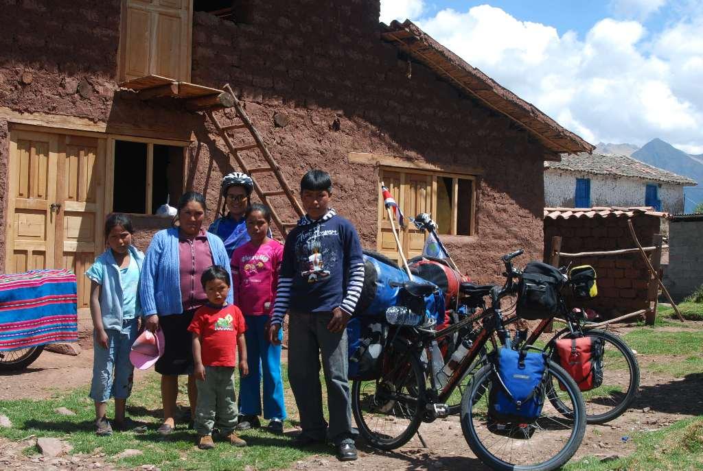 Wilson y su familia