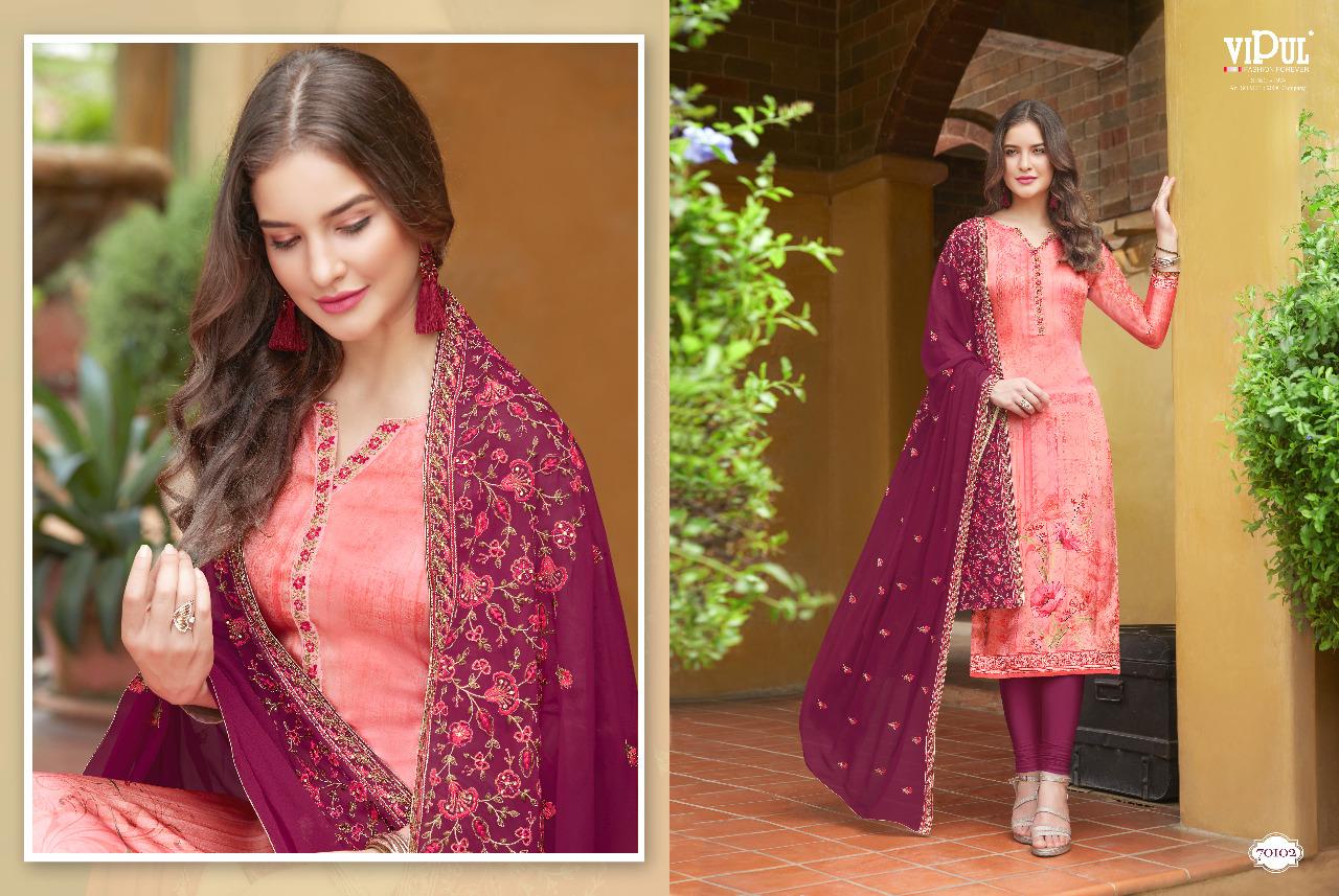 63ca139598 Surat Textile Hub vipul pressent eliza printed straight salwar ...