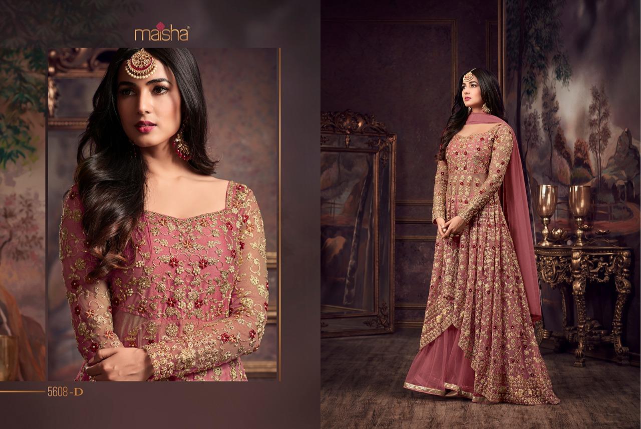 a03f852b80 Surat Textile Hub Maisha – maskeen vol-23 bridal designer gown ...