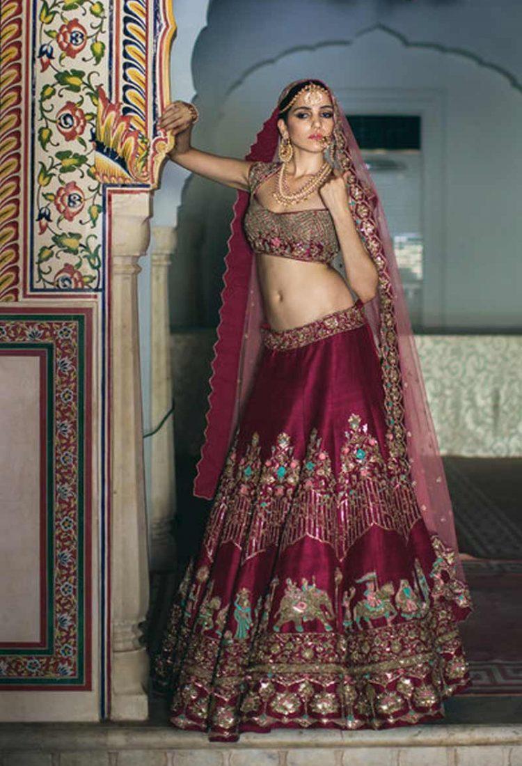 9b1935717e krishna export pressent bollywood Exclusive Indian Wedding Wear Bridal  Women Lehenga Choli