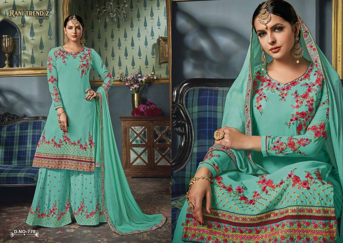 4b0fecbd51 Rani trendz Presents rajdhani heavy traditional wear collection of salwar  kameez