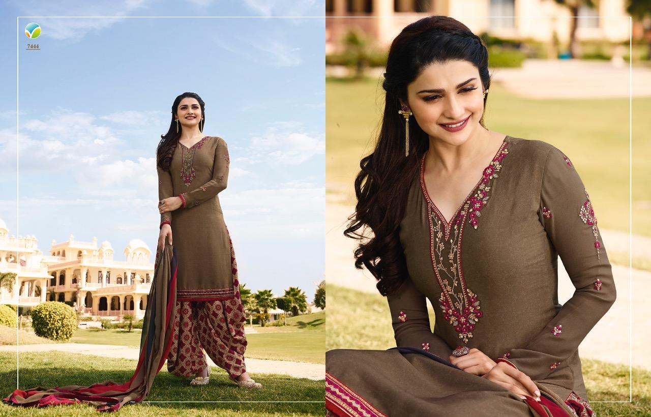 4037952ee Vinay fashion presents silkina royal crepe 16 exclusive collection of Patiala  salwar kameez
