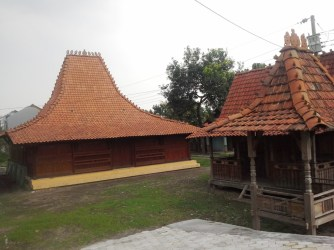 the traditional house of Java