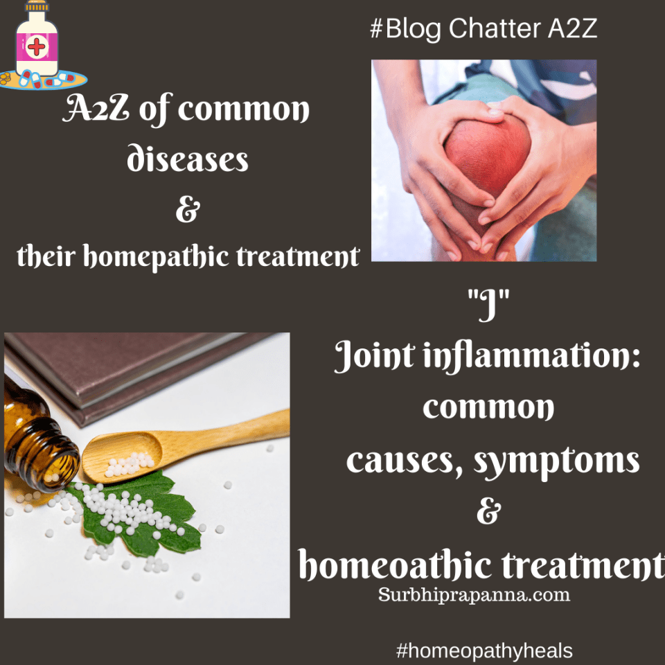Joint inflammation: common causes, symptoms & homeopathic treatment