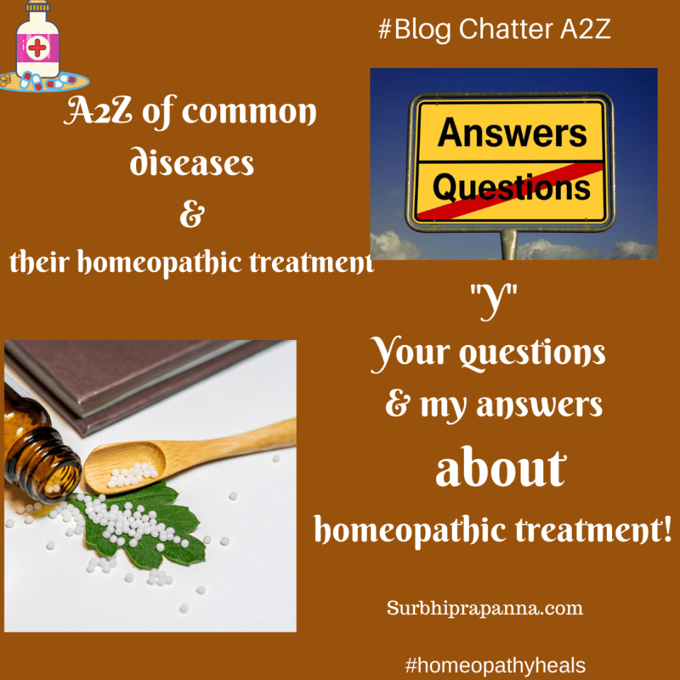 Your questions & my answers about homeopathic treatment!