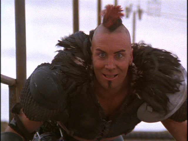 Vernon Wells as 'Wez' in Mad Max 2 - 1981