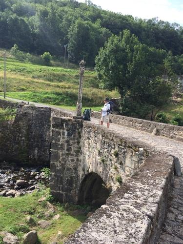 Pont pèlerin de Saint Chely