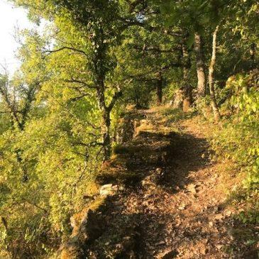 La vallée du Célé : Sainte Eulalie-Marcilhac  23 km