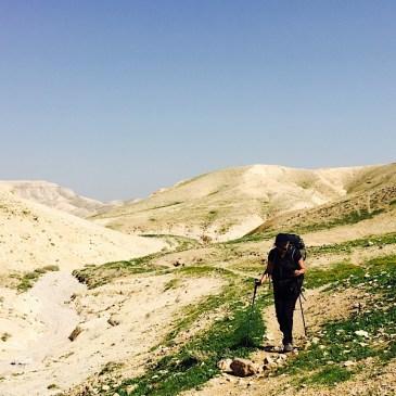 Sur le sentier d'Abraham – 2 de Sea Level à Kirbet el Mird