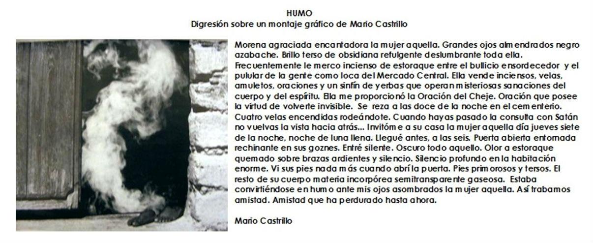 Humo - Mario Castrillo, El Savador