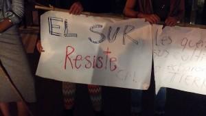 Bloqueo en San Pedro por solidaridad con campesinos del Sur2