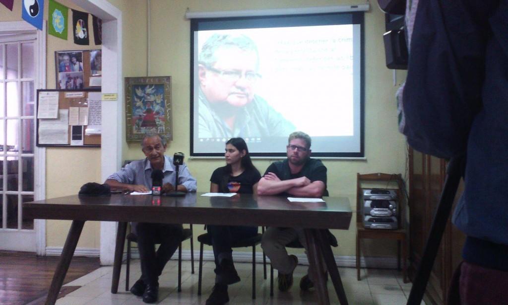 Realizan actividades solicitando la libertad para Orlando Barrantes