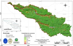 UCR mapea sitios de la capital bajo amenaza de deslizamientos