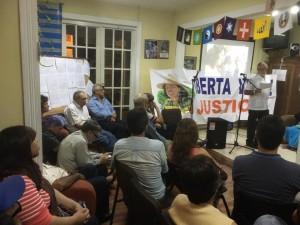SERPAJ CR en vigilia por Berta Caceres2