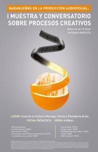 Afiche Muestra de Audiovisuales Naranjeños