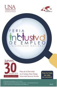 Primera Feria de Empleo Inclusiva UNA