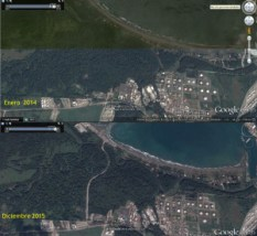 Ruta destruye hectareas de Humedal Cariari en Moin